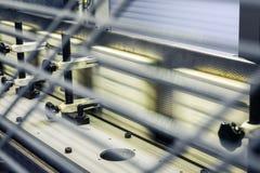 Βιβλίων παραγωγής κενή γραμμή λήξης εργοστασίων αντικειμένων βιομηχανική Στοκ φωτογραφία με δικαίωμα ελεύθερης χρήσης