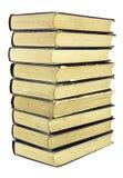 βιβλίων στοίβα που φοριέτ& Στοκ Εικόνα