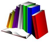 βιβλίων Στοκ Εικόνα