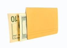 Βιβλιάριο και χρήματα Στοκ Εικόνες
