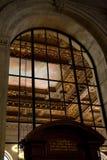 βιβλιοθήκη νέα δημόσια Υόρκη στοκ φωτογραφία με δικαίωμα ελεύθερης χρήσης
