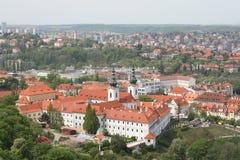 βιβλιοθήκη Πράγα strahov Στοκ φωτογραφίες με δικαίωμα ελεύθερης χρήσης