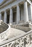 βιβλιοθήκη της Αθήνας Ε&lamb Στοκ φωτογραφία με δικαίωμα ελεύθερης χρήσης