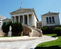βιβλιοθήκη της Ελλάδας  Στοκ Εικόνα