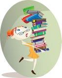 Βιβλιοθηκάριος διανυσματική απεικόνιση