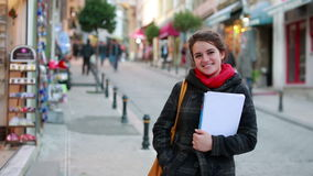 βιβλία εκμετάλλευσης γυναικών σπουδαστών απόθεμα βίντεο