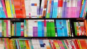 βιβλία ζωηρόχρωμα Στοκ Εικόνα