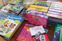 Βιβλία και εγχειρίδια για την εκμάθηση των γερμανικών Στοκ Φωτογραφία