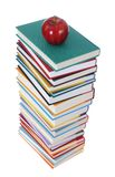 Βιβλία και Apple Στοκ φωτογραφίες με δικαίωμα ελεύθερης χρήσης
