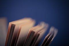 βιβλία παλαιά Εκλεκτική εστίαση πεδίο βάθους ρηχό τονισμένος Στοκ φωτογραφίες με δικαίωμα ελεύθερης χρήσης