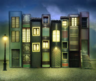 Βιβλία που κατοικούνται Στοκ Φωτογραφία