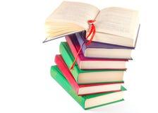 βιβλία που χρωματίζονται Στοκ Φωτογραφίες