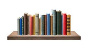 Βιβλία στο ράφι Στοκ Εικόνα