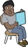 Βιβλίο ανάγνωσης νεολαίας Στοκ εικόνα με δικαίωμα ελεύθερης χρήσης