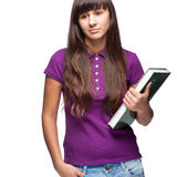 Βιβλίο εκμετάλλευσης κοριτσιών Στοκ φωτογραφία με δικαίωμα ελεύθερης χρήσης