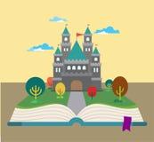 Βιβλίο ιστορίας απεικόνιση αποθεμάτων