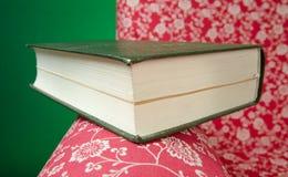 Βιβλίο και κόκκινη πολυθρόνα Στοκ Εικόνες