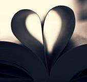 Βιβλίο-καρδιά Στοκ φωτογραφία με δικαίωμα ελεύθερης χρήσης