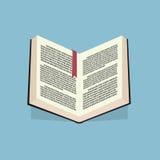 Βιβλίο με το κείμενο Στοκ Εικόνες