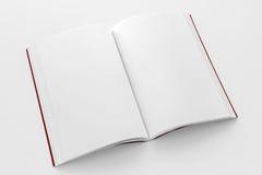 Βιβλίο με το κόκκινο πρότυπο κάλυψης Στοκ φωτογραφίες με δικαίωμα ελεύθερης χρήσης