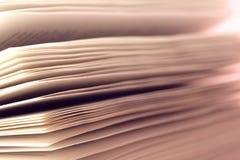 βιβλίο παλαιό άνευ ραφής σύσταση των σελίδων βιβλίων Στοκ Εικόνες