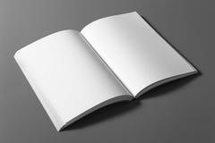 Βιβλίο που απομονώνεται κενό στο γκρι Στοκ εικόνες με δικαίωμα ελεύθερης χρήσης