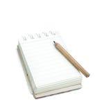 Βιβλίο σημειώσεων Στοκ φωτογραφία με δικαίωμα ελεύθερης χρήσης