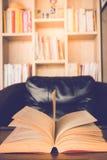 Βιβλίο στον πίνακα Στοκ Εικόνα