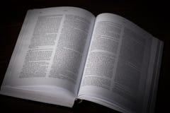 Βιβλίο στο Μαύρο Στοκ εικόνα με δικαίωμα ελεύθερης χρήσης