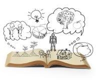 Βιβλίο των ιστοριών φαντασίας Στοκ Εικόνες
