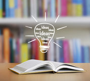 Βιβλίο των ιστοριών φαντασίας Στοκ Φωτογραφία