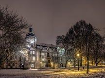 Βιβλιοθήκη επιστήμης του Πίλζεν Στοκ φωτογραφία με δικαίωμα ελεύθερης χρήσης