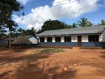 Βιβλιοθήκη δημοτικού σχολείου στην Τανζανία στοκ εικόνες με δικαίωμα ελεύθερης χρήσης