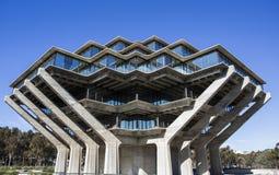 Βιβλιοθήκη κρατικού πανεπιστημίου του Σαν Ντιέγκο Στοκ Εικόνες