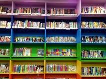 Βιβλιοθήκη παιδιών Στοκ εικόνα με δικαίωμα ελεύθερης χρήσης