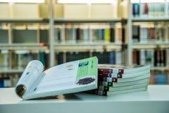 Βιβλιοθήκη πόλεων Guangzhou, Guangdong, Κίνα Στοκ φωτογραφία με δικαίωμα ελεύθερης χρήσης