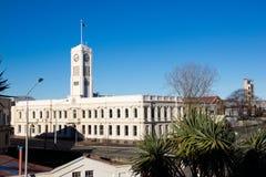 Βιβλιοθήκη σε Timaru, Νέα Ζηλανδία στοκ φωτογραφίες
