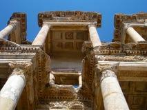 Βιβλιοθήκη της Τουρκίας Ephesus Στοκ Εικόνες