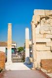 Βιβλιοθήκη του Αδριανού στην Αθήνα, Ελλάδα Στοκ εικόνες με δικαίωμα ελεύθερης χρήσης