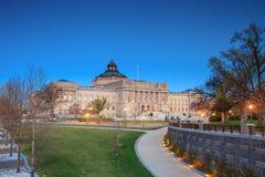 Βιβλιοθήκη του Κογκρέσου Στοκ Εικόνα