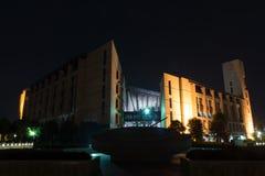 Βιβλιοθήκη του πανεπιστημίου FuZhou Στοκ φωτογραφία με δικαίωμα ελεύθερης χρήσης
