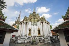 Βιβλιοθήκη Phra Mondop σε Wat Pho ή ναός του ξαπλώνοντας Βούδα, Μπανγκόκ, Ταϊλάνδη Στοκ Εικόνες