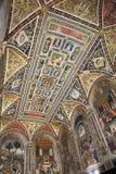 Βιβλιοθήκη Piccolomini, Σιένα, Τοσκάνη, Ιταλία Στοκ φωτογραφία με δικαίωμα ελεύθερης χρήσης
