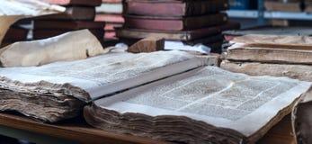 Βιβλιοθήκη Ricoleta η παλαιότερη βιβλιοθήκη στο Περού Στοκ Εικόνα