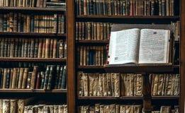 Βιβλιοθήκη Ricoleta ο παλαιότερος στο Περού Στοκ Εικόνες
