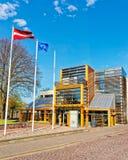 Βιβλιοθήκη Ventspils στη Λετονία Στοκ Εικόνες