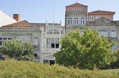 Βιβλιοπωλείο του Lello που βλέπει από τη Λισσαβώνα Plaza Στοκ Εικόνες