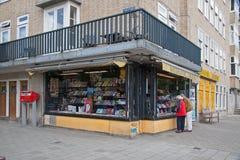 Βιβλιοπωλείο Blankevoort όπου Otto Frank για την κόρη του Άννα Φρανκ αγόρασε το ημερολόγιό της για τα γενέθλιά της Στοκ Φωτογραφίες
