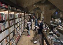 Βιβλιοπωλείο fangsuo Chengdu Στοκ Εικόνες