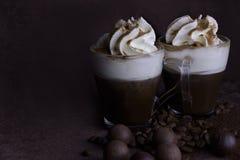 Βιενέζικος καφές στοκ εικόνες με δικαίωμα ελεύθερης χρήσης